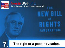 Franklin D. Roosevelt On The Second Bill of Rights