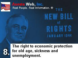 The Right To Economic Protection For Old Age, Sickness and Unemployment.